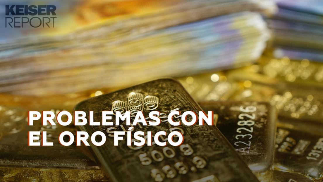 """""""La gente quiere su oro porque se ha dado cuenta de que el dinero fiat se está hundiendo"""""""