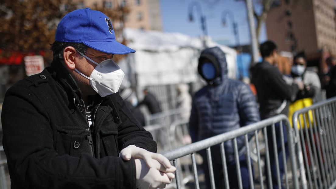El estado de Nueva York registra 209 muertes por coronavirus en 24 horas, mientras que el número de casos supera los 50.000