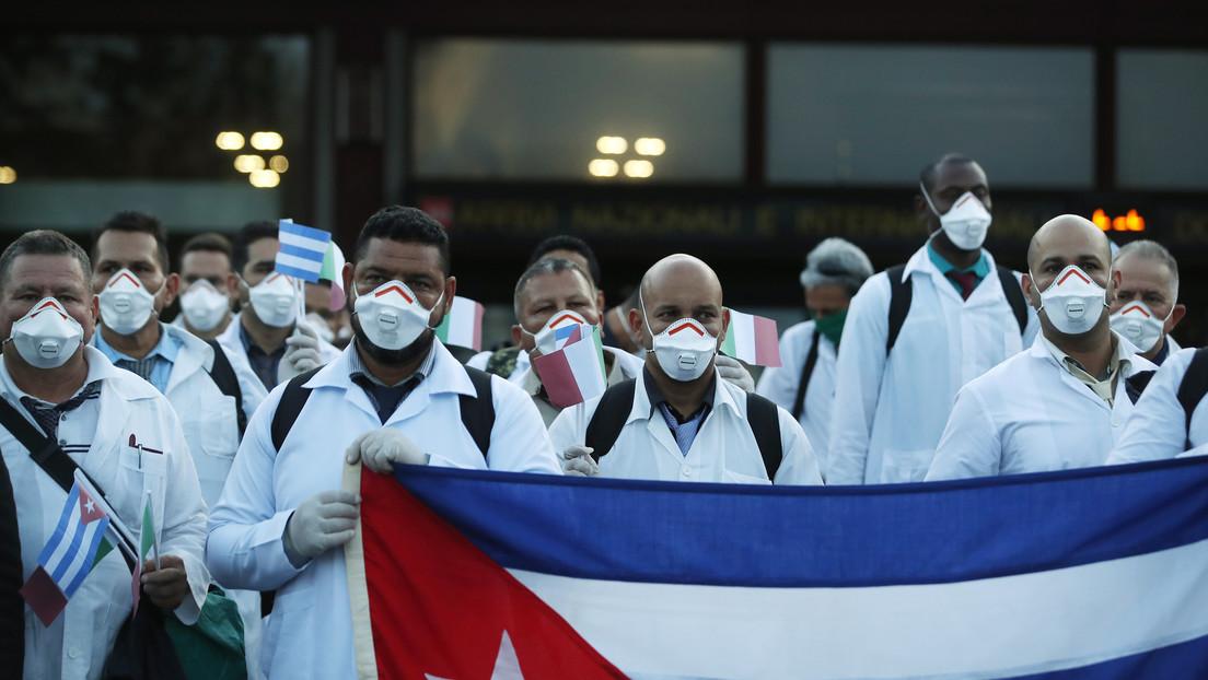 12 países reciben ayuda de médicos cubanos para superar el covid-19