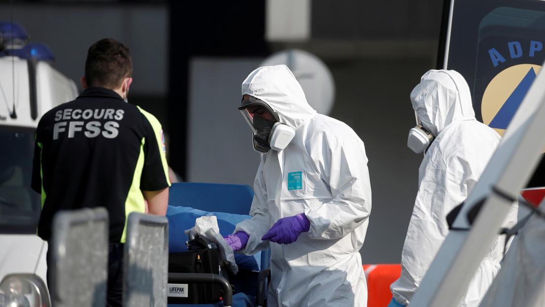 Ascienden a 2.314 los fallecidos por covid-19 en Francia, tras registrarse otras 319 muertes en las últimas 24 horas