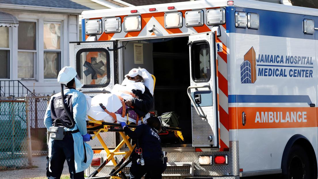 Cada 17 minutos muere una persona en Nueva York por coronavirus