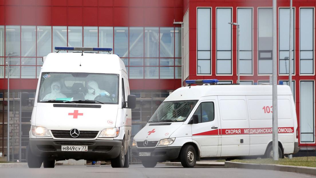 El número de muertes por covid-19 en Rusia asciende a 8 y el total de casos a 1.534
