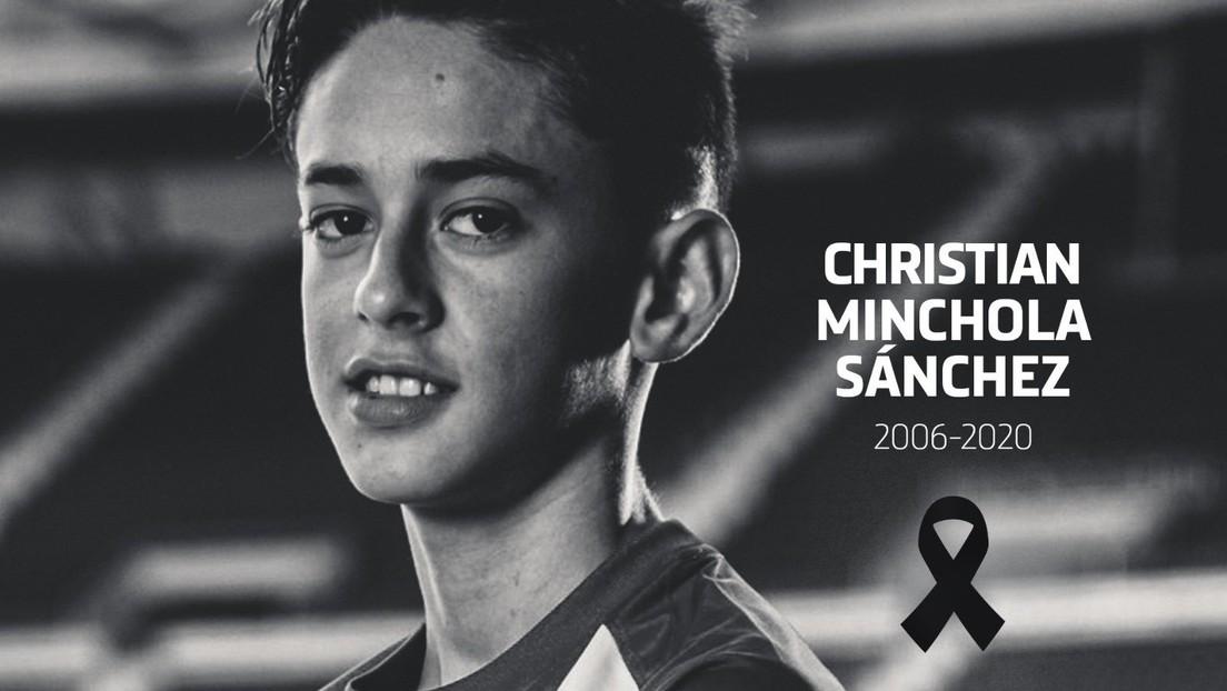 Muere una joven promesa del Atlético Madrid con apenas 14 años