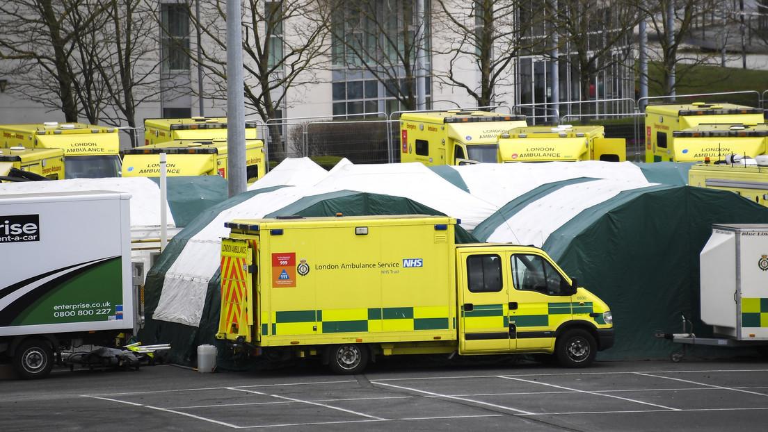 Asciende a 1.228 el número de muertos por covid-19 en el Reino Unido, tras confirmar otros 209 fallecimientos