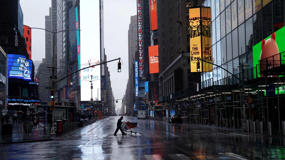 VIDEO: Nueva York en medio de la pandemia del coronavirus