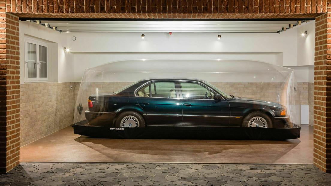 FOTOS: Saca a subasta un BMW, conservado en una 'cápsula de tiempo' por dos décadas, y recibe una oferta 130 veces más alta que el precio de salida