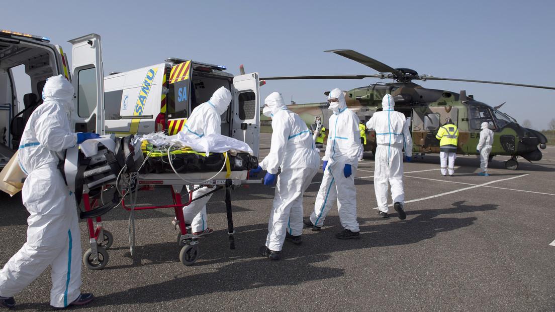 Francia registra 292 muertos por covid-19 en un día y la cifra total de fallecidos asciende a 2.606