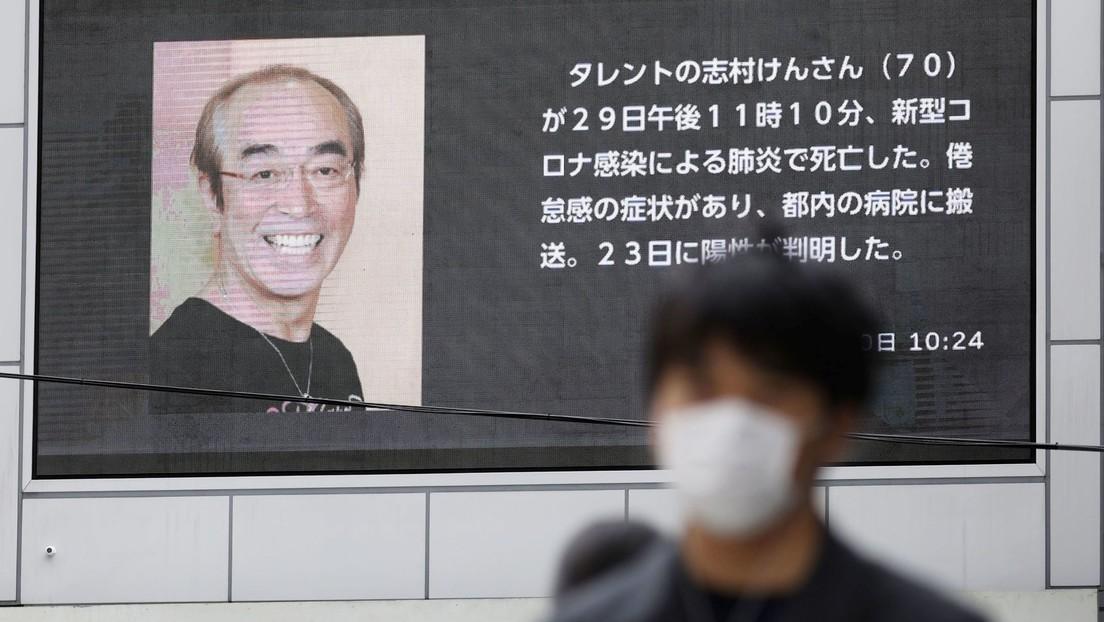 Fallece por coronavirus el famoso comediante japonés Ken Shimura