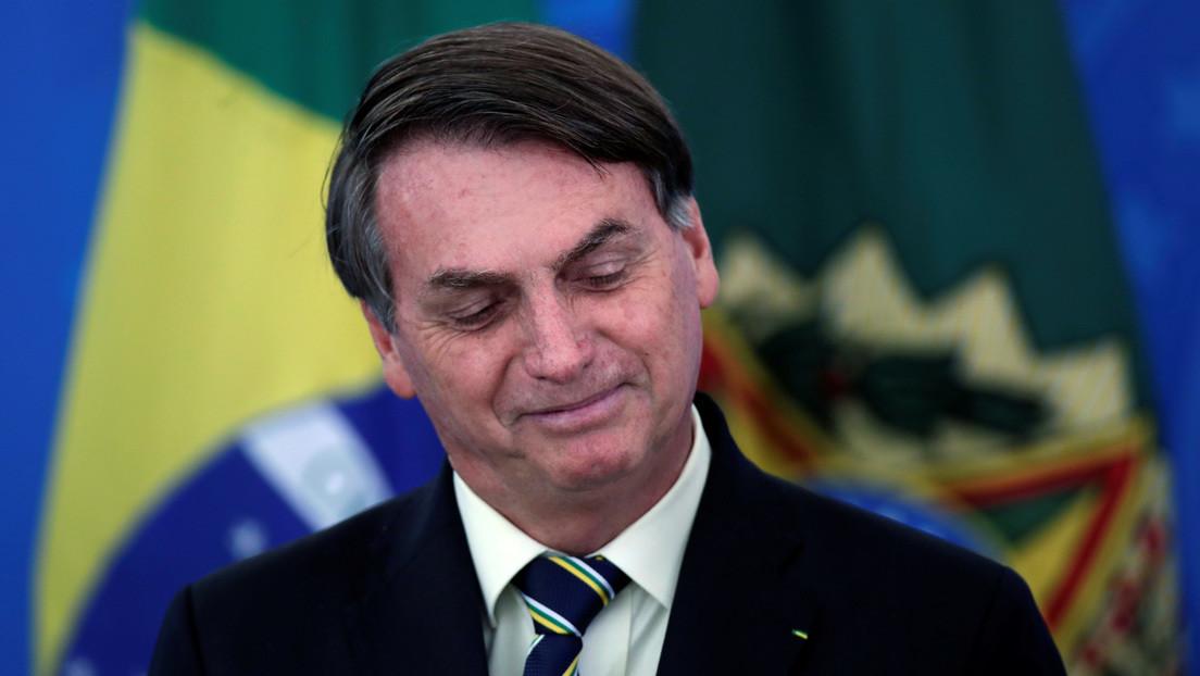 """Bolsonaro afirma que hay """"aprovechadores"""" que pretenden sacarlo del Gobierno por la crisis del coronavirus"""