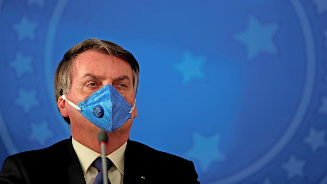 La Fiscalía brasileña pide multar al Gobierno después de que Bolsonaro incumpliese el aislamiento
