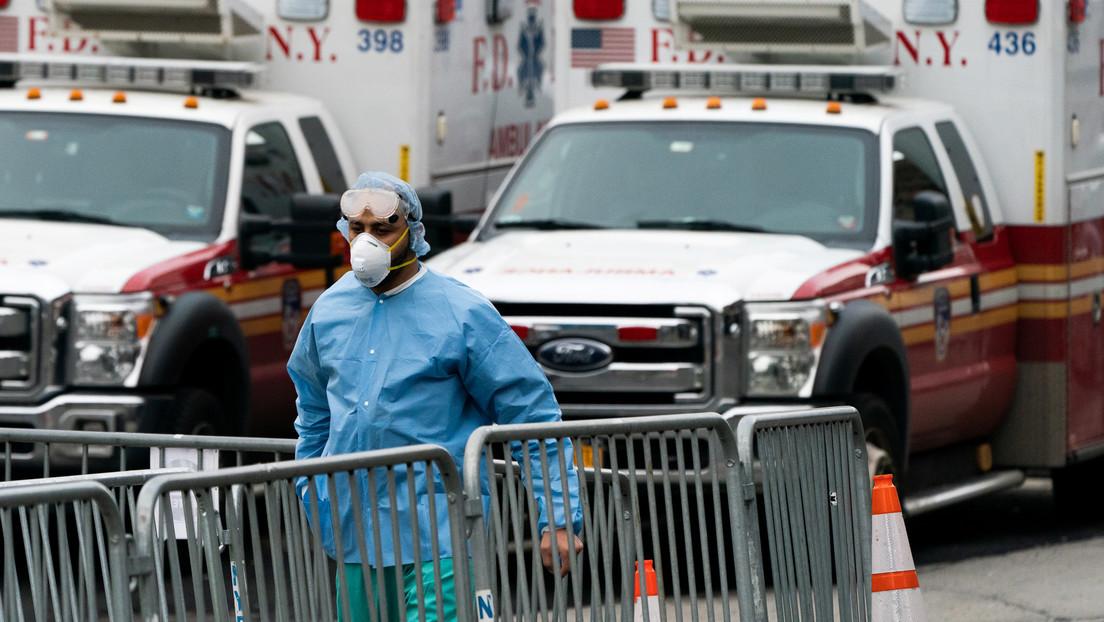 Una médica graba lo que sucede en un hospital de Nueva York con infectados por coronavirus (VIDEO)