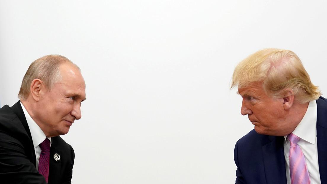 Putin y Trump valoran una posible mayor interacción en la lucha contra la pandemia de covid-19