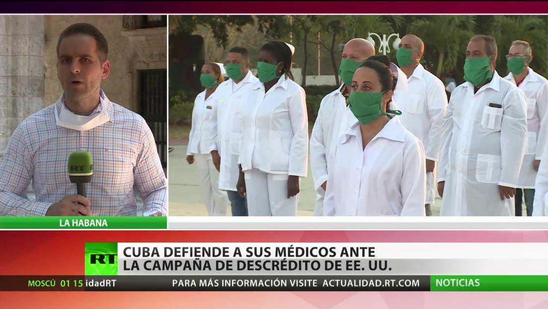 Cuba defiende a sus médicos que ayudan a combatir el coronavirus en medio de la campaña de descrédito de EE.UU.