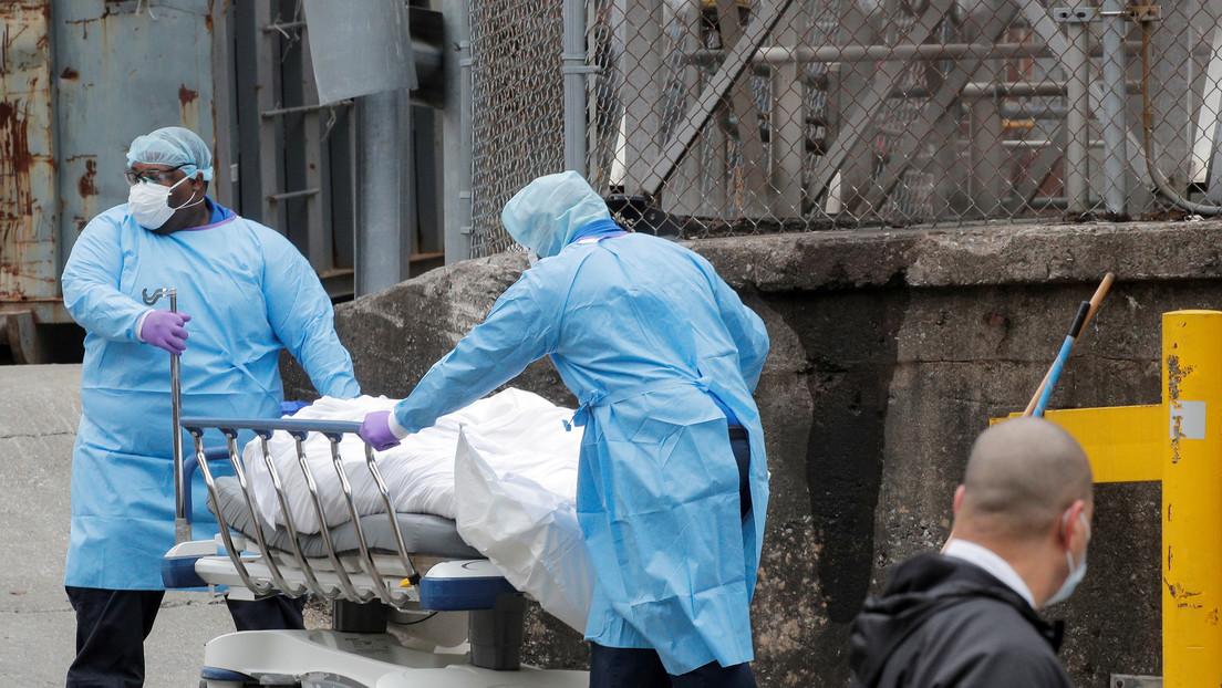 Los fallecidos por coronavirus en EE.UU. superan los 3.000 y ya son más de 160.000 los contagiados