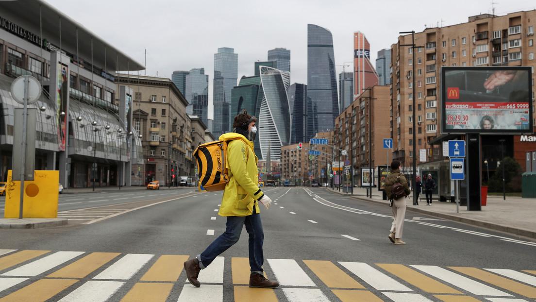 Las muertes por covid-19 casi se duplican en Rusia en un día y los casos llegan a 2.337 tras 500 contagios más