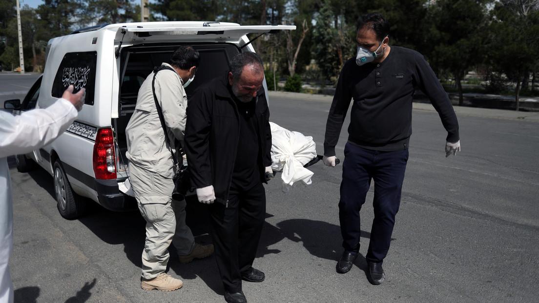 Irán: Ascienden a 2.898 los muertos y a 44.606 los infectados por coronavirus