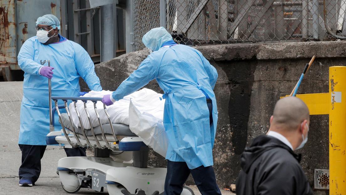"""Paramédico de Nueva York: """"Hay mayor carga de trabajo durante la crisis del covid-19 que en el 11-S"""" (VIDEO)"""