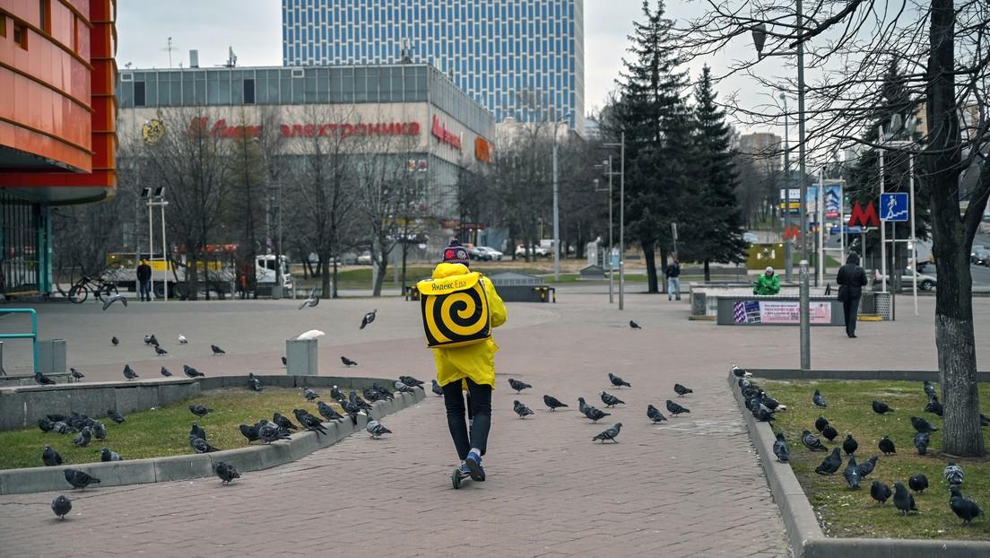 El 'Google ruso' lanza una herramienta que valora cómo las ciudades de Rusia acatan la cuarentena por el coronavirus