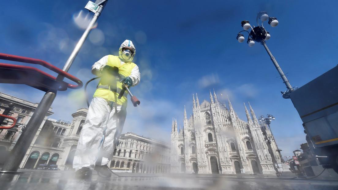 Italia registra 837 muertes por coronavirus en las últimas 24 horas, mientras que los nuevos contagios se estancan en 4.000