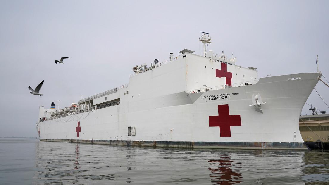 """Nueva York se prepara para un """"tsunami"""" de contagios de covid-19"""
