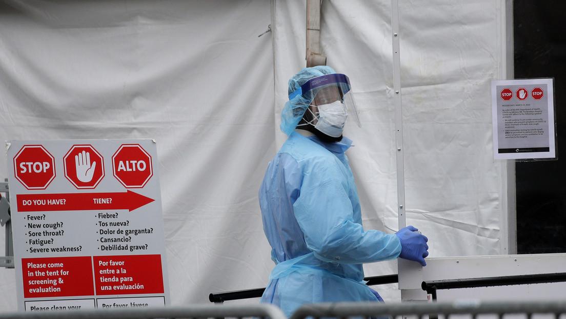 Se disparan los casos de coronavirus en el estado de Nueva York con más de 75.700 contagios