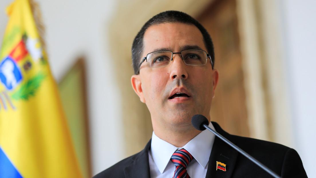"""Arreaza responde a la propuesta de Pompeo: """"Las decisiones en Venezuela se toman en Caracas"""""""