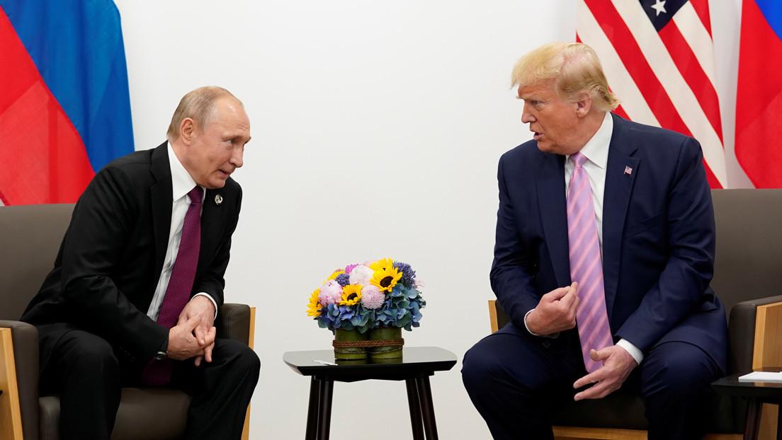 """Putin ofrece a Trump ayuda médica para frenar """"la grave situación epidemiológica"""" en EE.UU. y él lo acepta """"con agradecimiento"""""""