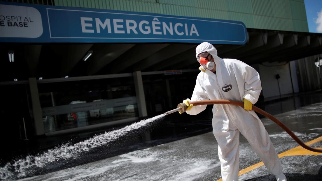 Brasil registra 201 decesos por coronavirus y 5.717 contagios