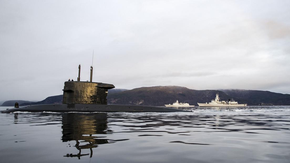 8 tripulantes de un submarino neerlandés dan positivo al coronavirus