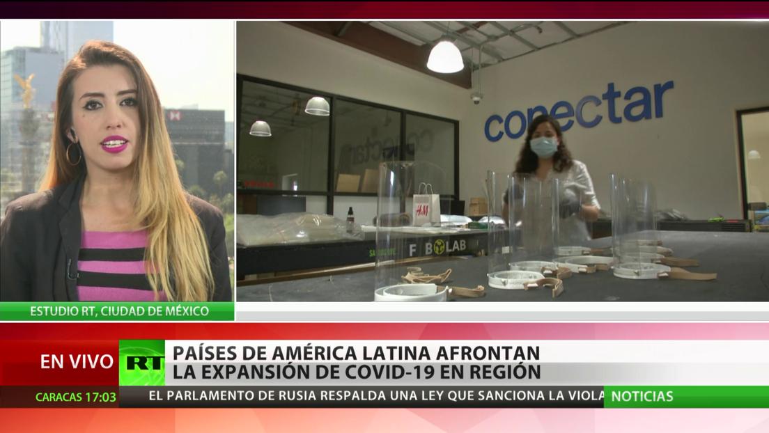América Latina afronta la expansión del coronavirus en la región