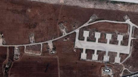 Las Fuerzas Armadas turcas atacan un aeropuerto militar en Alepo