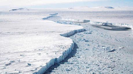 El derretimiento de glaciares pone al descubierto una isla desconocida en la Antártida