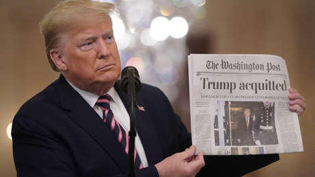 La campaña de Trump demanda a The Washington Post por difamación