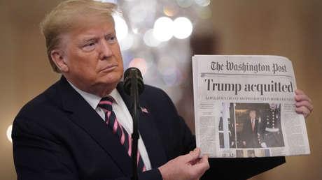 La campaña de Trump demanda a The Washington Post por difamación
