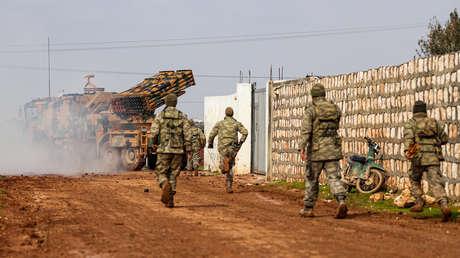 Rusia: Las fortificaciones terroristas se han fusionado con los puestos turcos en Idlib