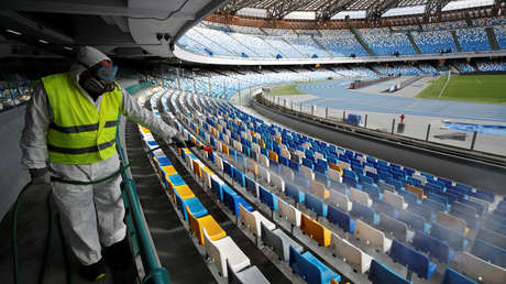 Italia ordena que todos sus eventos deportivos se organicen a puerta cerrada debido al coronavirus