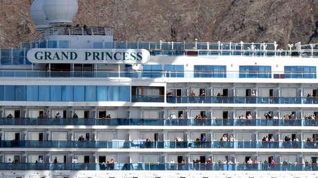Dos pasajeros del Grand Princess demandan a la empresa dueña del crucero por negligencias ante el brote de coronavirus