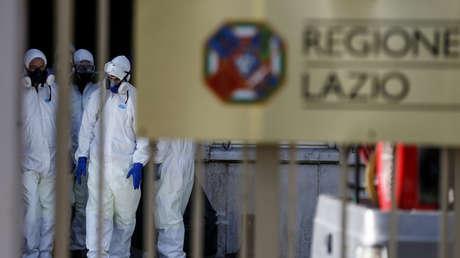 El número de víctimas mortales del coronavirus en Italia alcanza 827 personas y más de 12.000 infectados