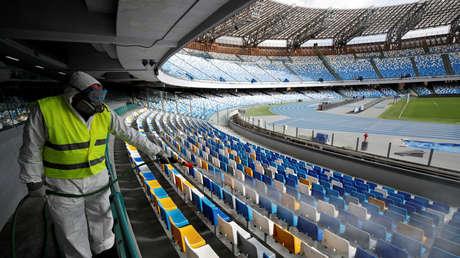 Suspenden el Sevilla-Roma y el Inter-Getafe de la Europa League por el coronavirus y se jugarían a partido único en campo neutral