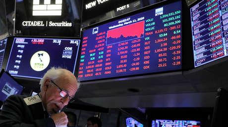 Los mercados mundiales se desploman tras la suspensión de vuelos de Europa a EE.UU. por el coronavirus