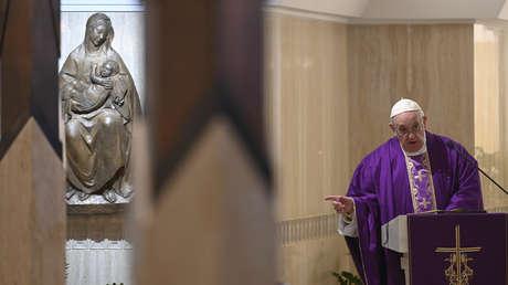 """El papa sobre el cierre de iglesias en Italia por el coronavirus: """"Las medidas drásticas no siempre son buenas"""""""