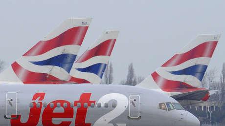 Varios aviones con destino a España vuelven al Reino Unido a mitad de vuelo tras la declaración del estado de alarma por Madrid