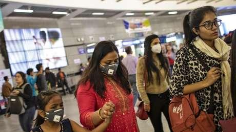 """India pone el covid-19 a la par con terremotos y tsunamis al declarar el virus como un """"desastre notificado"""""""