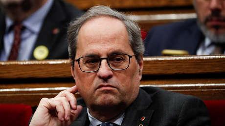 El presidente y el vicepresidente de Cataluña dan positivo en coronavirus