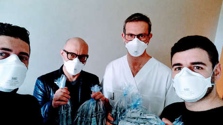 Salvan a personas en estado grave por coronavirus gracias a impresoras 3D