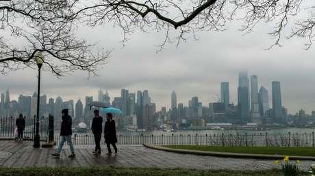 """""""Orden de refugio"""": Nueva York decidirá si impone una cuarentena total en las próximas 48 horas"""