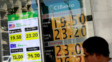 El peso mexicano se hunde por segunda vez esta semana a otro mínimo histórico