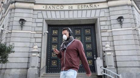 """Banco de España: la economía vive una """"perturbación sin precedentes"""" por el covid-19"""
