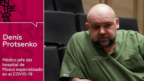 """Médico jefe del hospital de Moscú especializado en el covid-19: """"Es mejor exagerar y hacer el ridículo que tener el escenario italiano"""""""