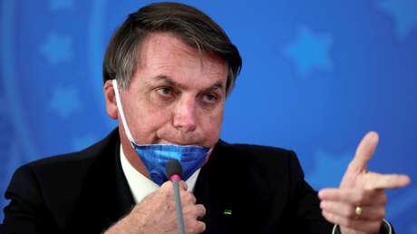 """Bolsonaro, sobre los gobernadores y alcaldes que toman medidas contra el coronavirus: """"Es un crimen, destruyen empleos"""""""